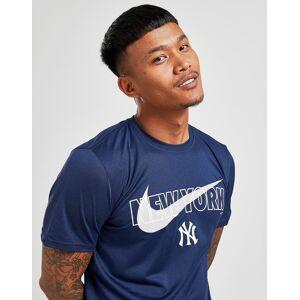 Nike T-Shirt MLB New York Yankees Swoosh - Azul - Mens, Azul
