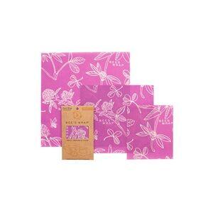 Bee's Wrap Papel de Cera de Abelha (Modelo Trevo) 3 unidades - Bee's Wrap