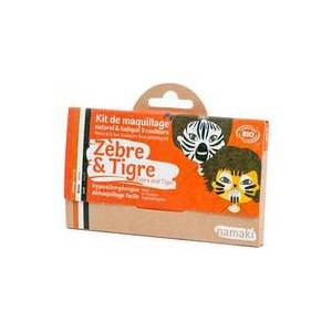 Namaki Kit de Maquilhagem 3 Cores Zebra & Tigre 1 unidade - Namaki