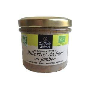 Le Bois Jumel Rillettes de Porco com Presunto Bio 90 g - Le Bois Jumel