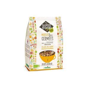 Germline Muesli com Flocos de Cereais e Girassol Germinados 350 g - Germline