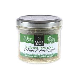 Le Bois Jumel Patê Breizh Vegetal Bio Creme de alcachofra 100 g - Le Bois Jumel