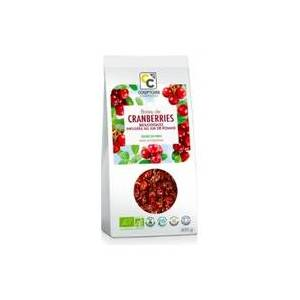 Comptoirs & Compagnies Cranberries orgânicos infundidos com suco de maçã 400 g - Comptoirs & Compagnies