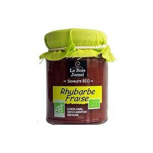"Le Bois Jumel Compota ""Extra"" de Morango e Ruibarbo Bio 120 g - Le Bois Jumel"
