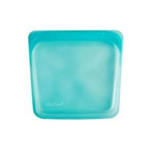 Stasher Bolsa de Silicone Platino M (Azul) 1 unidade - Stasher