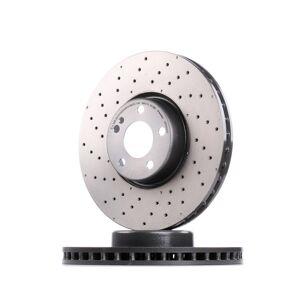BREMBO Discos de Travão CO-CAST DISCS LINE 09.D529.23 Disco de travão MERCEDES-BENZ,C-CLASS T-Model S205,C-CLASS W205,E-CLASS W213