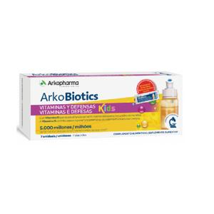 Arkopharma Arkobiotics Vitaminas E Defesas Kids 7ampolas