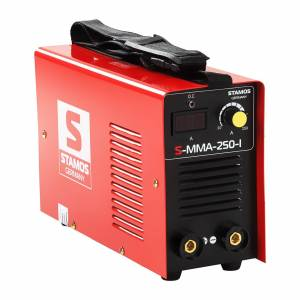 Stamos Basic Máquina de Soldar Elétrodos - 250 A - 230 V - IGBT 10020135