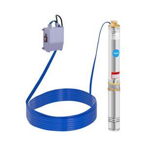hillvert Bomba submersível - 550W - até 80 m - aço inoxidável 10090123