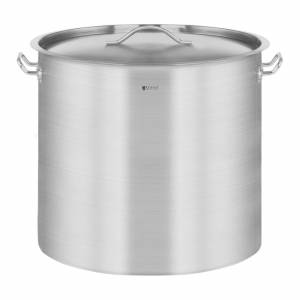 Royal Catering Panela de aço inoxidável - 50l - tampa 10011073