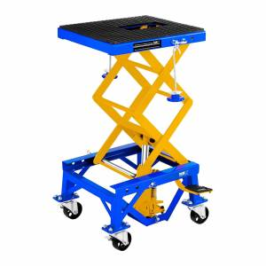 MSW Plataforma de elevação de tesoura com rodas - 135 kg 10060317