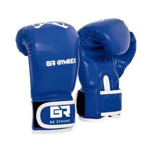Gymrex Luvas de boxe para crianças - azul - 4 oz 10230057