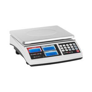 Systems Balança de contagem - 30 kg / 1 g - branco 10030069
