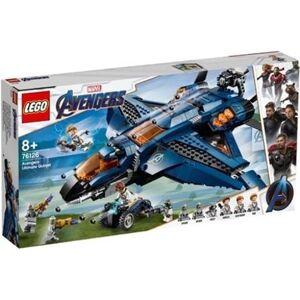 Lego Marvel: O Quinjet dos Vingadores - 76126 (Idade mínima: 8 - 838 Peças)
