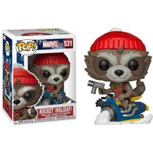 Marvel Holiday Figura FUNKO Pop! Marvel: Holiday - Rocket