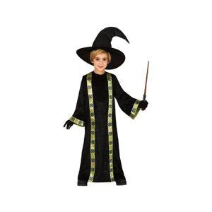 Disfrazzes Fato Unisexo Mago Preto E Verde (Tam: 5 a 6 anos)