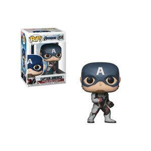 Marvel Figura FUNKO Pop Avengers Endgame Captain America Team Suit