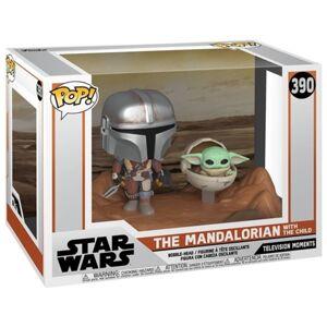Star Wars Figura FUNKO Pop! Mandalorian & Child
