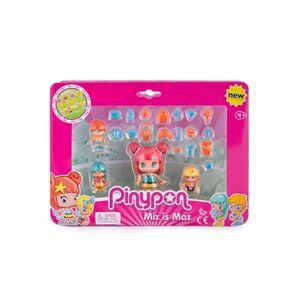 Pinypon Conjunto 4 Bonecos Bebés e Figuras