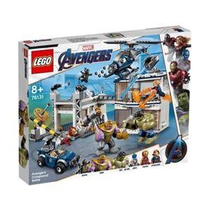 Marvel: O Combate no Quartel dos Vingadores - 76131 (Idade mínima: 8 - 699 Peças)
