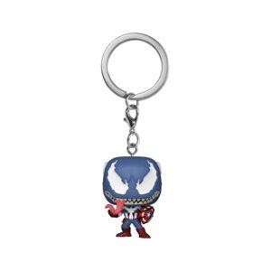 Marvel: Venom Porta-Chaves POP: Marvel Venom - Captain Ame