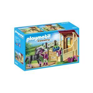 Playmobil Country: Cavalo Árabe com Estábulo 6934 (Idade mínima: 4 - 77 Peças)