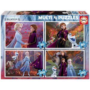 Educa Puzzle Frozen (50-80-100-150 Peças)