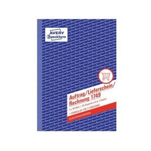 Caderno de Contabilidade AVERY 1749 (A5 - 40 Páginas)