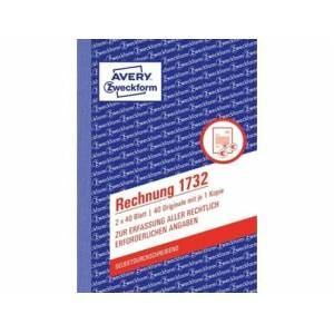 Caderno de Contabilidade AVERY 1732 (A6 - 40 Páginas)