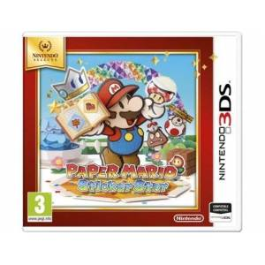 Nintendo Jogo 3DS Selects: Paper Mario Sticker Star