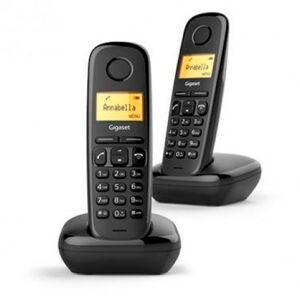 Telefone Sem Fios Dect Gigaset A170 Duo Preto