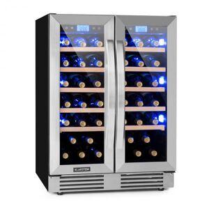 Vinovilla Duo 42 Garrafeira Refrigeradora 2 Compartimentos 126l 42 Garrafas 3 Cores Vidro