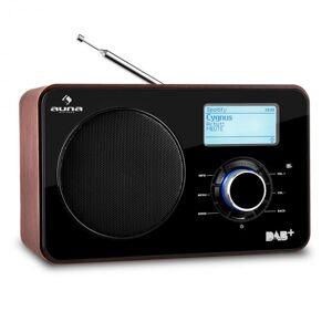 Worldwide Rádio Internet WLAN/LAN DAB+ Tuner FM USB AUX Dual Alarm