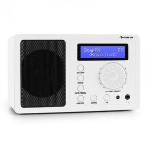 DR-130 BT rádio digital DAB+ UKW Bluetooth branco
