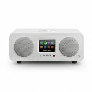 One - 2.1 Rádio Internet Bluetooth Spotify Connect DAB+ 20W Branco
