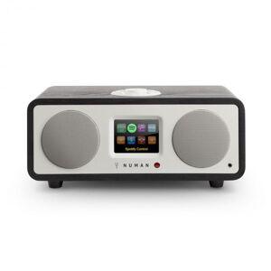 One - 2.1 Rádio Internet Bluetooth Spotify Connect DAB+ 20W Preto