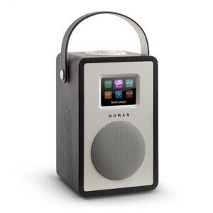 Mini Two Design - Rádio Internet WiFi DLNA Bluetooth DAB/DAB+ UKW Carvalho