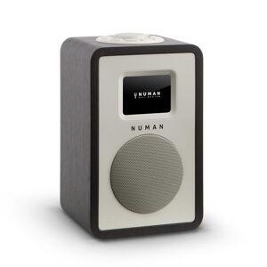"Mini One Design Rádio Digital 2,4"" Ecrã TFT a Cores Bluetooth DAB+ Preto"