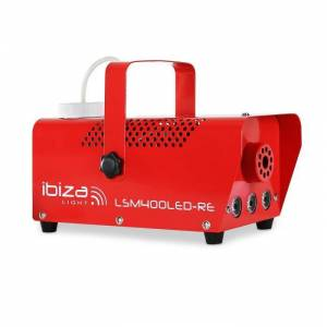 LSM400LED-RE Máquina de Nevoeiro Pequena LEDs vermelho