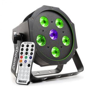 BFP110 FlatPAR Projector LED 3 em 1 5x 6 W LEDs RGB DMX Telecomando IV