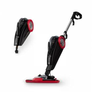 Flux Aparelho de Limpeza a Vapor 1600W de Mão e Chão 600ml Vermelho