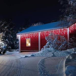 Dreamhouse Corrente de Luzes 24 m 480 LEDs Branco Frio Snow Motion