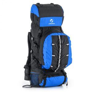 Almer Trekking Mochila de 80 l 40x80x35 cm daypack azul/ preta