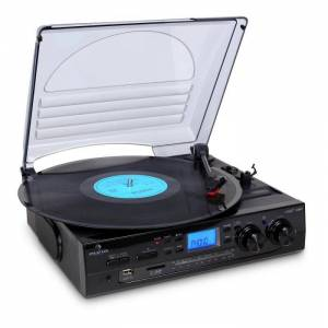 TT-186E Turntable de gravação stereo USB MP3
