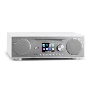 Connect CD Rádio de Internet Leitor Multimédia BT MP3 DAB+ Spotify Connect Rádio FM Branco