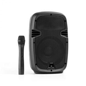 "Bushfunk 20 Altifalante Activo 20 cm (8 "") Bateria Bluetooth USB SD MP3 VHF 400W"