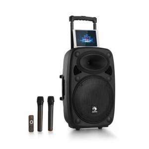 "Streetstar 2.0 12 Sistema PA Móvel Subwoofer 12"" Trolley BT USB/SD/MP3"
