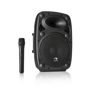 "Streetstar 10 Sistema de PA Móvel 10"" (25,5 cm) Woofer Microfone UHF 400 W máx."