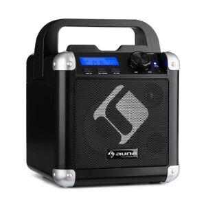 BC-1 Sistema Karaoke Bluetooth Bateria Pega USB AUX In Preto