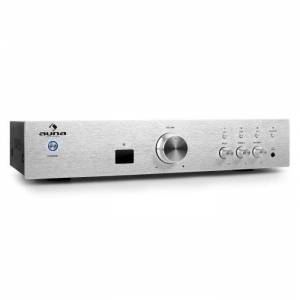 AV2-CD508BT Amplificador HiFi 600W Prateado
